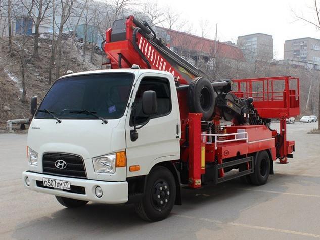 Автовышка 26 метров Hyundai