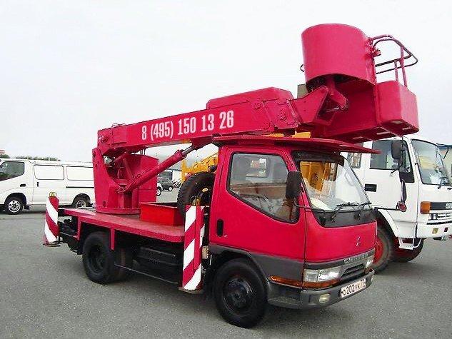 Автовышка 13 метров Mitsubishi Canter