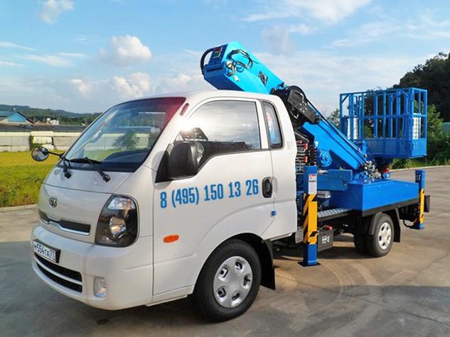 Автовышка 12 метров Kia Bongo