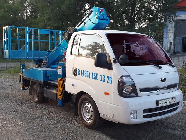Автовышка 14 метров Kia