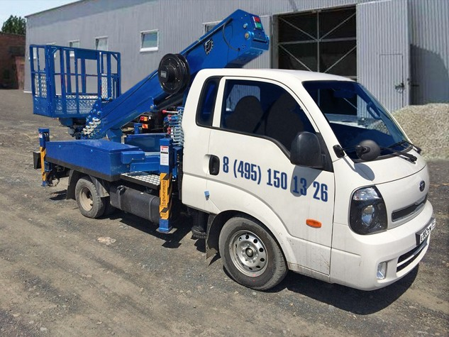 Автовышка 18 метров Kia Bongo