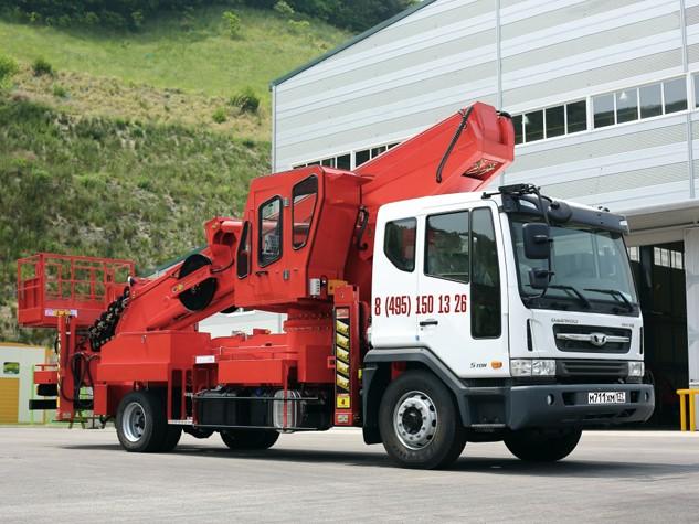 Автовышка 45 метров Daewoo Novus