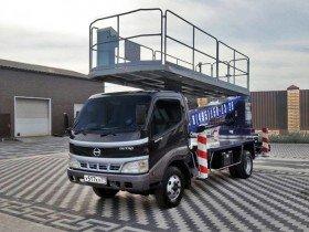 Автовышка 16 метров с большой люлькой Hino