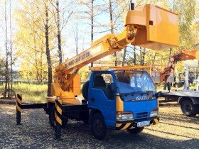 Автовышка 15 метров Isuzu
