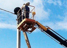 Протяжка пропроводов, установка камер наблюдения
