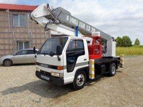 Автовышка 18 метров Isuzu